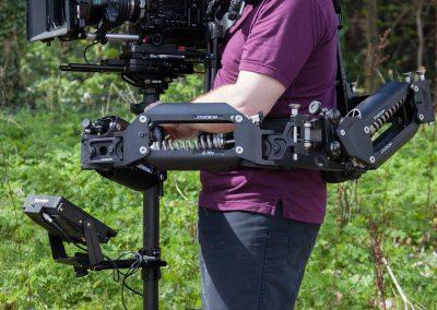Specialist filming equipment.